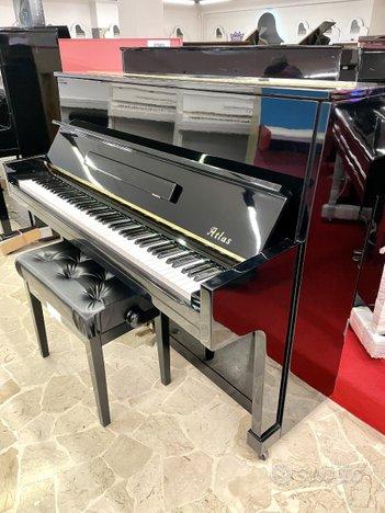 Pianoforte verticale atlas nero lucido