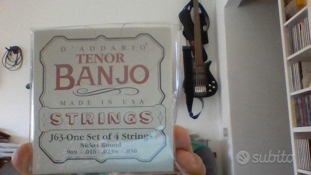 Muta D'Addario J63 per banjo tenore 4 corde