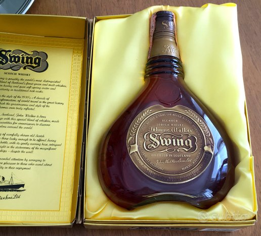 Swing scotch whisky
