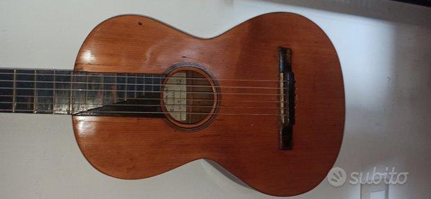 Antica chitarra liuteria Italiana 1850