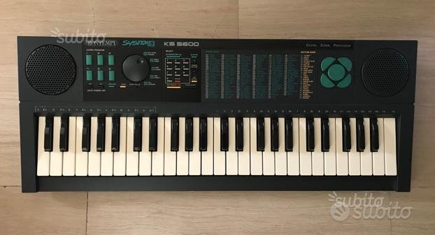 Tastiera Bontempi System 5 - Ks 5600