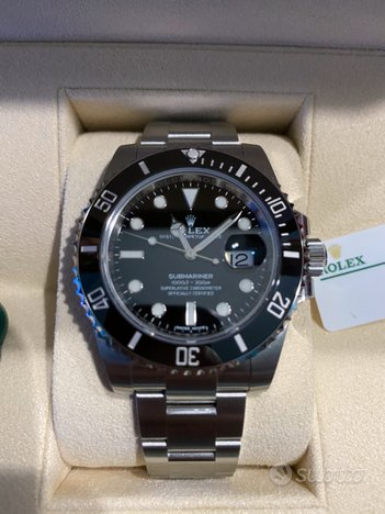 Rolex submariner data 2020 nuovo