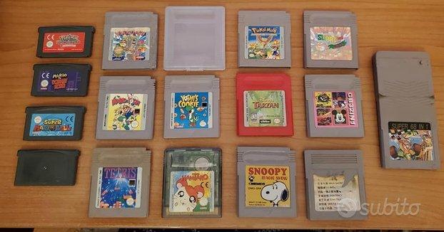 16 Videogiochi per Nintendo Game Boy vari modelli
