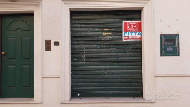 SAN GIORGIO J.- Locale commerciale 40 mq+ deposito
