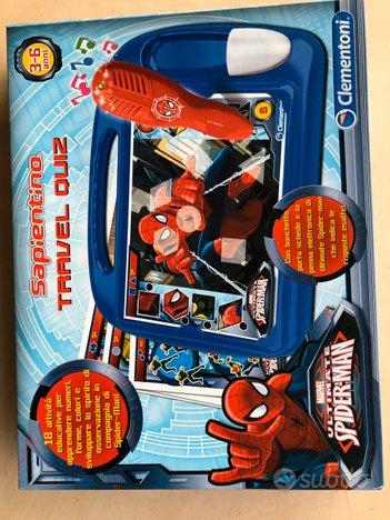 Sapientino Travel Quiz Spider-Man