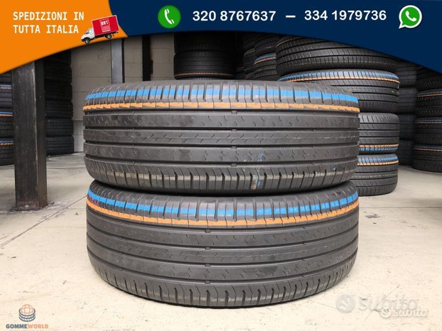 2 gomme 235 55 19 - Continental ecocontact