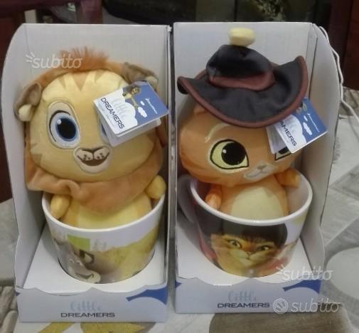 Peluche eroi dreamworks con tazza del mercato'