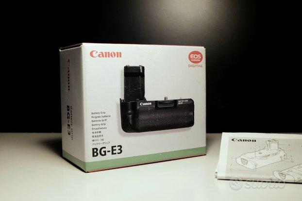Canon battery grip bg-e3 + batteria