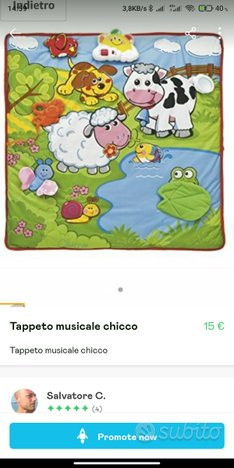 Tappeto musicale chicco