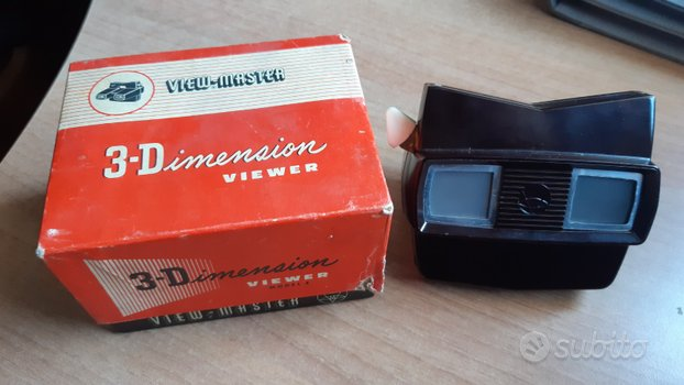 VIEW MASTER mod.E (anni '50) made in Belgium