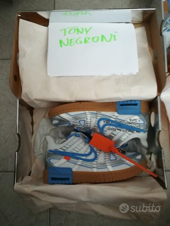 Off-White X Air Rubber Dunk 5,5/6/11 US