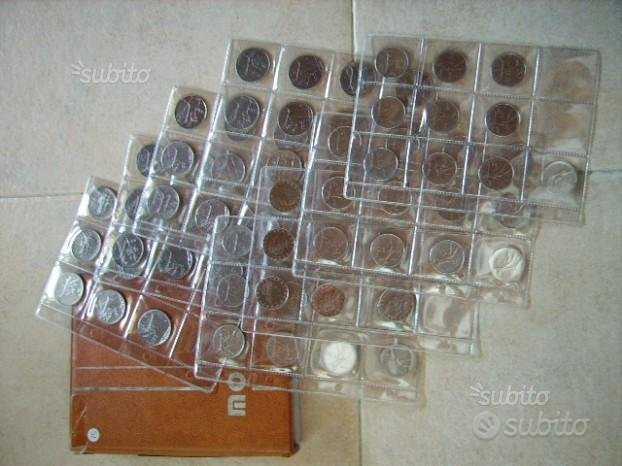 84 monete da 50 e 100 lire Repubblica Italiana