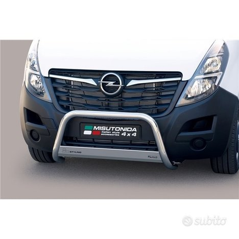 Opel Movano Bull Bar Anteriore inox