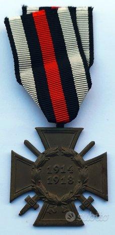 Croce onore tedesca nazista meriti guerra 1914-18