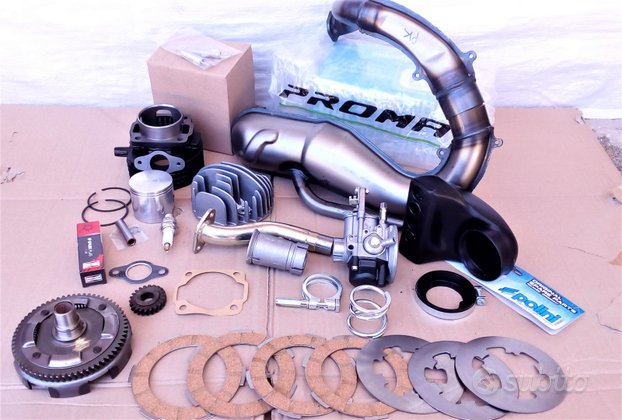 Kit Elaborazione Motore 110cc Vespa 50 Special L R