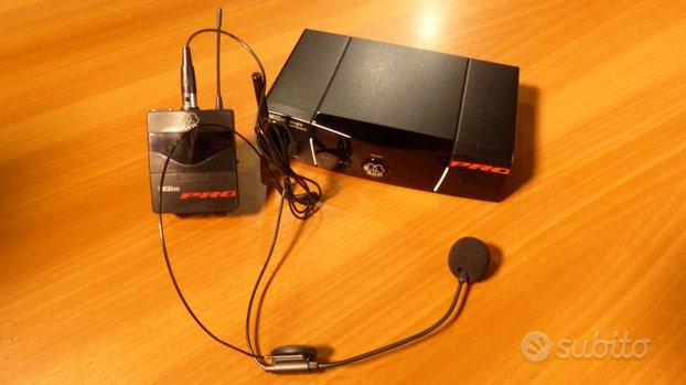 Radiomicrofono AKG WMS40Pro con archetto
