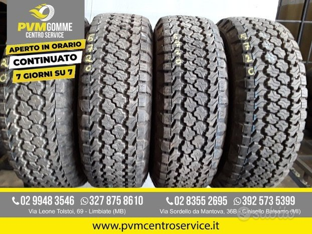 Gomme usate :225 75 15f 102t goodyear