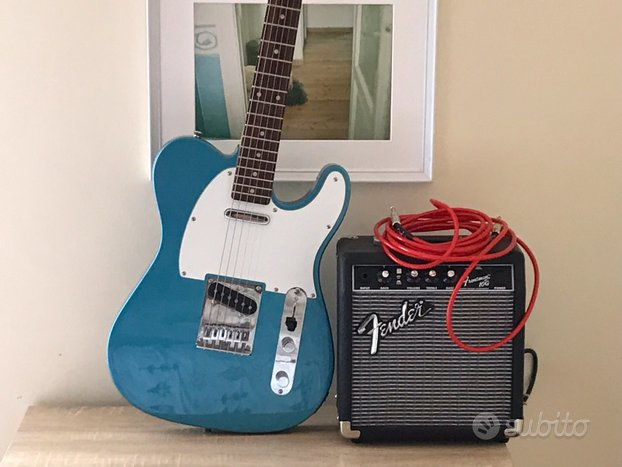 Squier Affinity by Fender - Telecaster, Lake placi