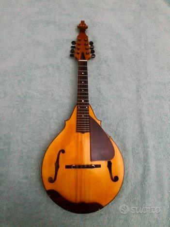 Mandolino bluegrass con ricciolo