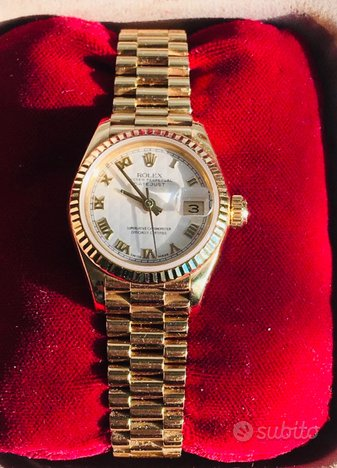 Rolex Oyster Perpetual Date Just (oro - donna)