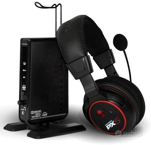 Cuffie da gaming Wireless Turtle Beach PX5