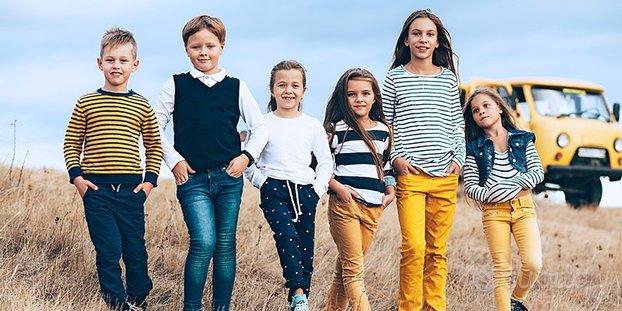 Abbigliamento estivo e invernale bambini