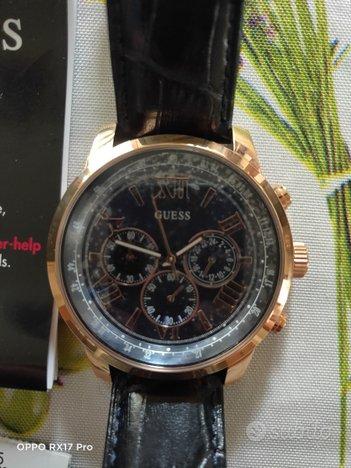 Orologio Guess originale Nuovo cronografo uomo