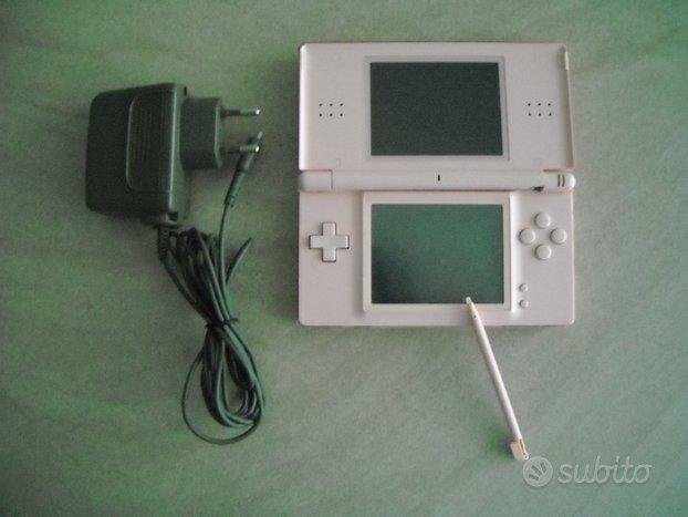 Consolle Nintendo Ds Lite rosa + 2 giochi