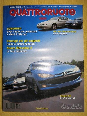 Quattroruote 1998 1999 2000 2001 2002 2003 2004