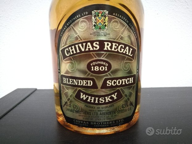 Whisky Chivas Regal 12 anni