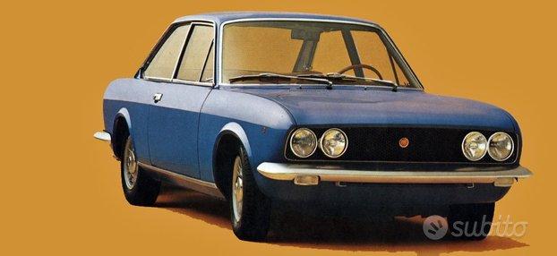 Fiat 124 sport coupe' ricambi usati originali