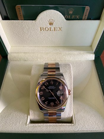 Rolex Datejust Rose Gold - Ref. 116201