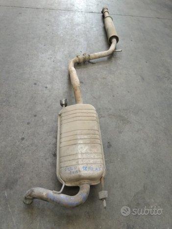 Marmitta per Volkswagen Polo 1998 1.4 Benzina