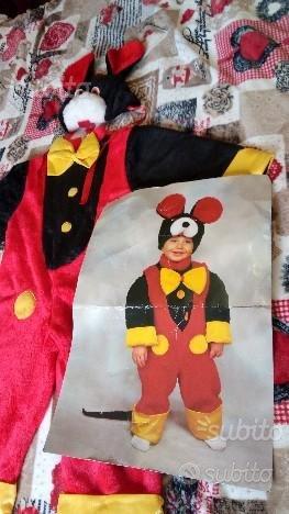 Costume di carnevale 2 / 3 anni topolino
