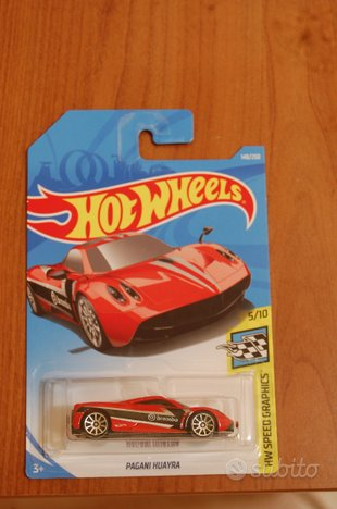Hot Wheels Pagani Huayra Brembo Rossa Red 2019 5/1