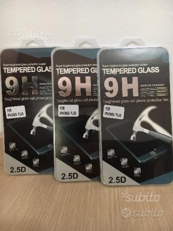 3x pellicole vetro temperato IPHONE PLUS