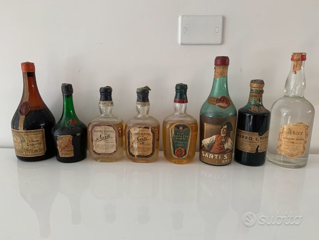 Bottiglie rare antiche