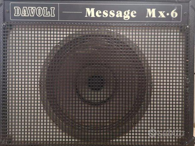 Cassa Amplificata Davoli Message Mx-6