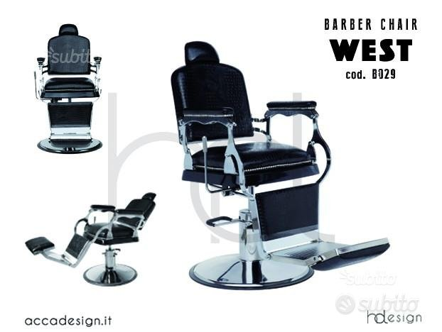 HD - Poltrona barber shop arredamento barbiere