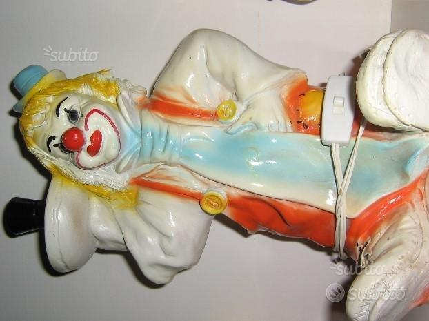 Lampada clown anni 80