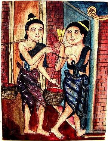 Dipinto Etnico Siam n° 60