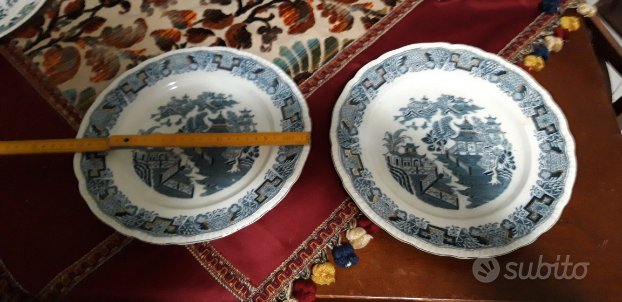 2 piatti inglesi da collezione