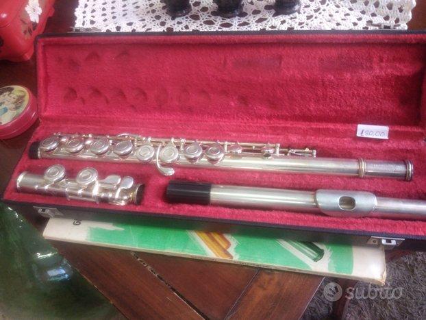 Flauto traverso argento