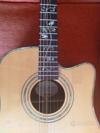 Chitarra acustica elettrica stagg na76cbb
