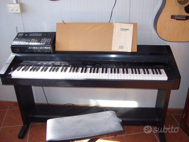 Pianoforte elettronico roland kr3000