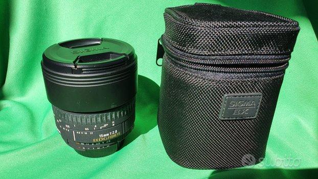 SIGMA 15mm f2.8 EX DG x Nikon