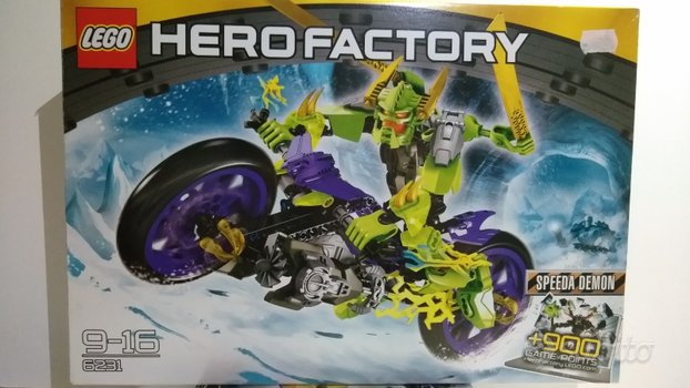Lego Hero Factory 6231 SPEEDA DEMON