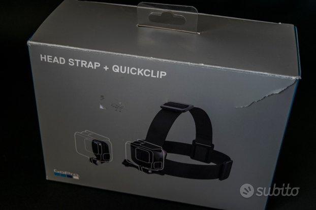 Accessorio GoPro Head Strap+ Quick Clip