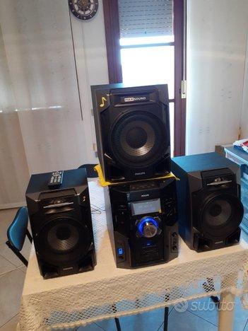 Stereo philips fwm608 600watt rms
