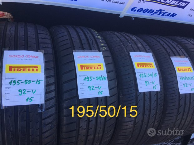 Gomme 195/50/15